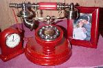 Mahoghony Antique Phones